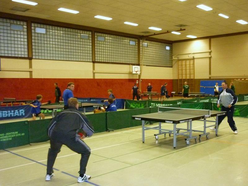 Training in der Halle Annenheide