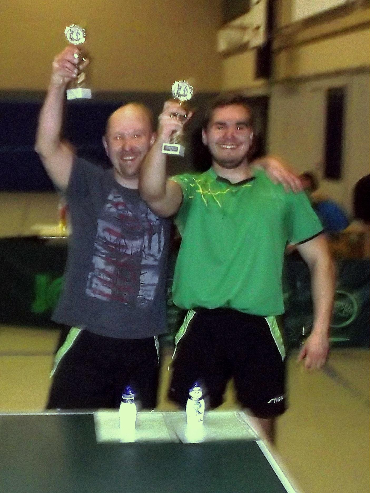 Doppelvereinsmeister Timo und Steven