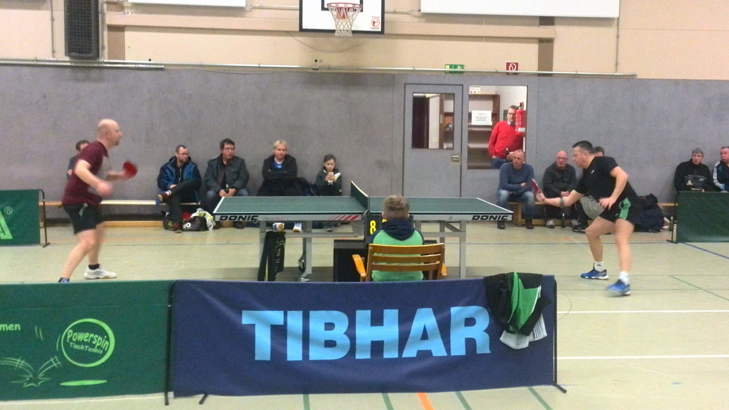 Einzelfinale Timo Müller gegen Meik Reinhold