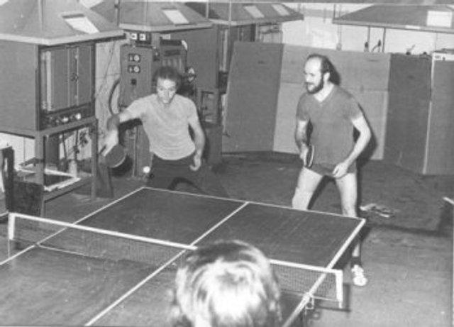 von links - Wolfgang Stättel, Rudi Pietsch
